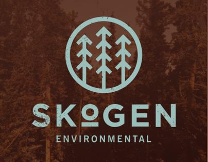 Skogen Environmental | Identity, Logo & Landing Page