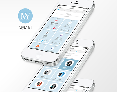 UI Design MyMall Shopping App