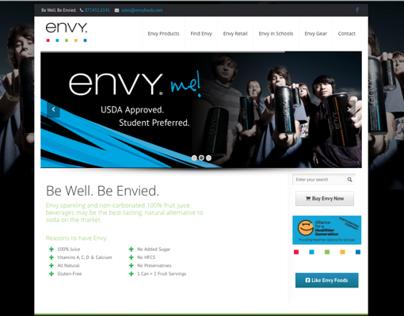 Envy Foods Website