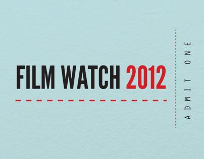 Film Watch 2012 Infographic