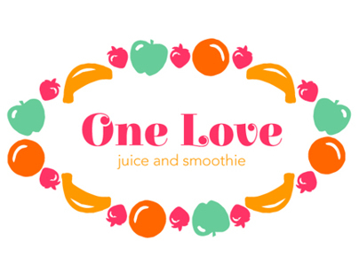 Logo variations for juice and smoothie startup
