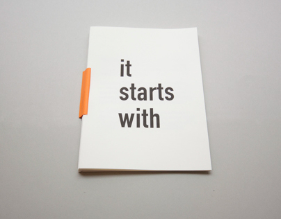 /It starts with/
