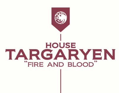 Game of Thrones: Key Houses Infographic