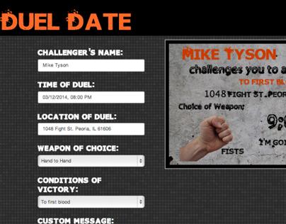 Duel Date App