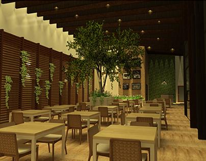 Projeto do Restaurante Bonan em Barreirinhas - MA