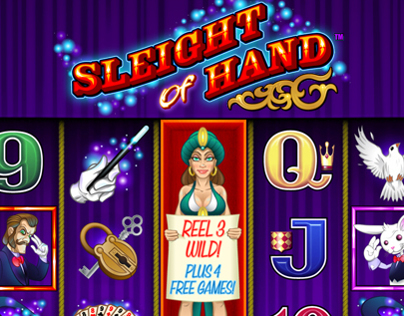 Sleight Of Hand Slot Game