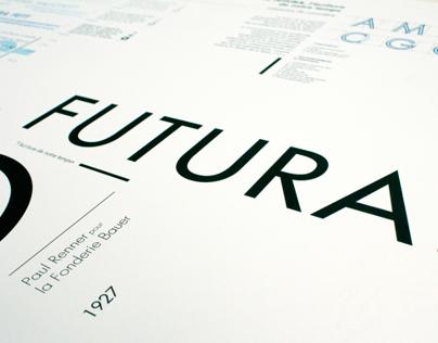 Futura - specimen