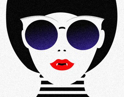 Vampire Girl : Make-up is eternity