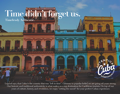 Visit Cuba Advertisements
