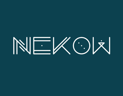 Nekow Typeface Design