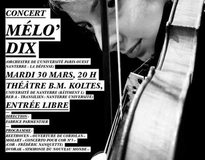 Melodix, concert pour les 10 ans de l'orchestre