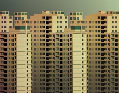Housing Blocks - Jakarta