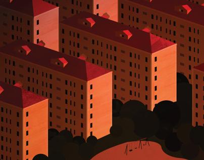 Housing Blocks - Shanghai