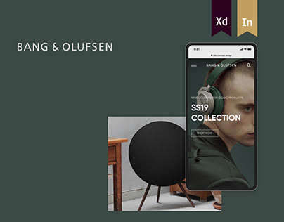 Bang & Olufsen Online Store (UI CONCEPT)