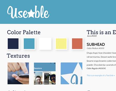 Branding Color Palette - Useable