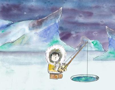 Digital Animation.Modern interpretation of Humpty Dumty