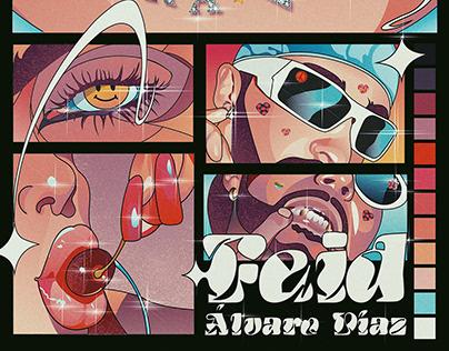 Feid x Alvaro Díaz - Otra Vez | Cover Art
