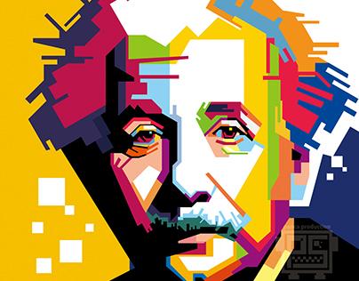 Albert Einstein | WPAP style #popart