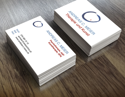 Corporate identity for a professional
