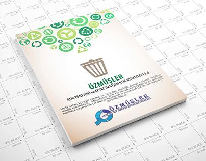 Özmüşler - Recycle Factory Catalog Design
