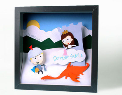 Dimensional pictures - 3 (personalised)