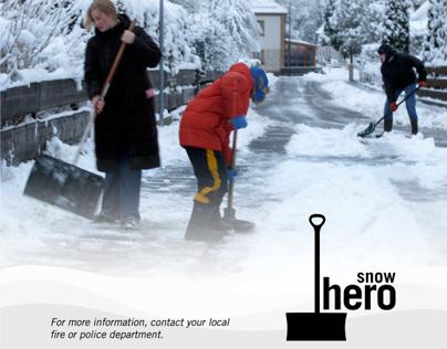 Snow Hero Awareness Campagin