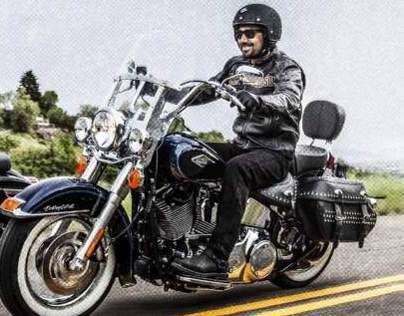 Harley Davidson Rentals Adverts