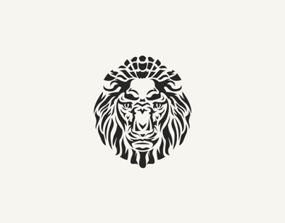 Lion Head Logo Mark