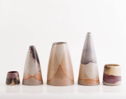 Woodfired conic collection
