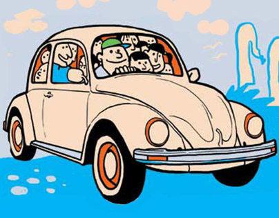Bali Volkswagen - Lost in Paradise