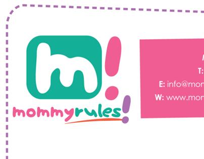 Mommy-Rules! Branding & Identity   Hong Kong