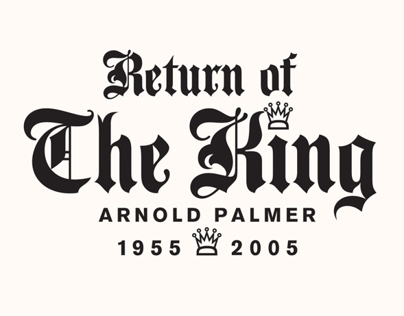 Return of King - Arnold Palmer's 50th Anniversary