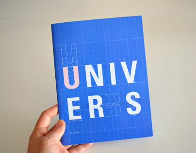 Univers Type Book