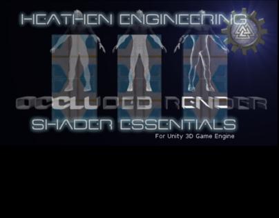 Heathen's Selective Glow Shader Essentials on Behance