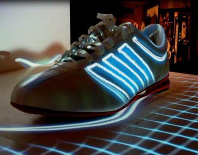 Mapping objet (Adidas Originals Sport)