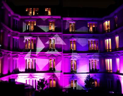 Eclairage architectural (Cartier | Fouquet's @ Paris)