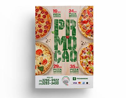 Panfleto - Pizzaria