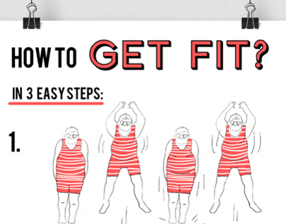 How to get fit in 3 easy steps