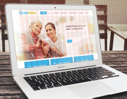 HOME NURSING I Responsive Design Template