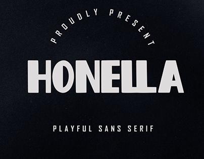 Honella - Playful Sans Serif