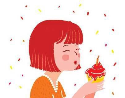 Birthday Illustrations