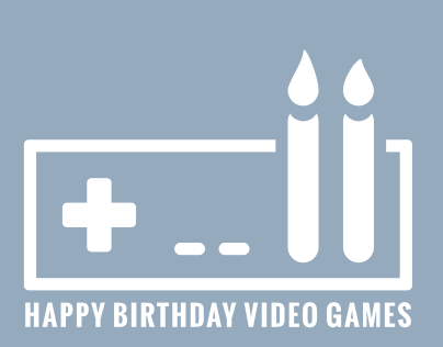 Happy birthday video games
