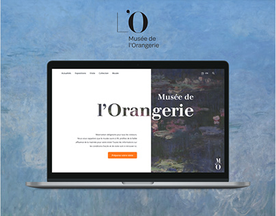 UX/UI Redesign: Musée de l'Orangerie