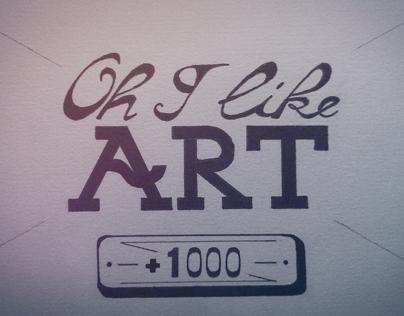 """Oh I Like Art""& Mathia Sivel"