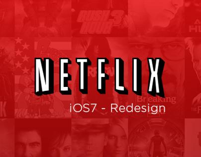 Netflix - iOS7 Redesign