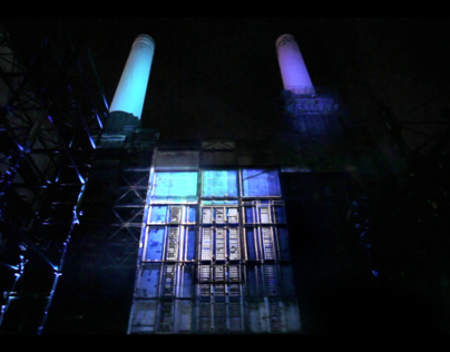 Landrover Evoque Projection Mapping