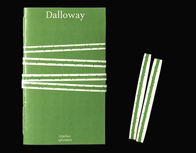 Dalloway - Type Specimen