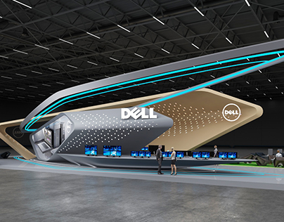 * DELL * Exhibition stand