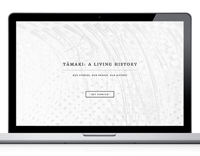 Tamaki: A Living History Website