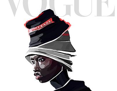 VOGUE RUSSIA cover   Digital illustration